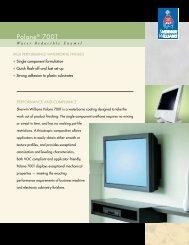 Polane 700T Water Reducible Enamel - Sherwin-Williams Product ...