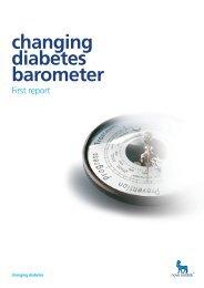 Changing Diabetes Barometer Report - Novo Nordisk Australasia