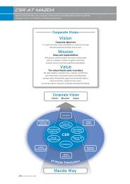 Vision Mission Value - Mazda
