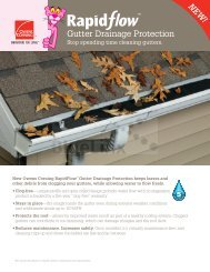 NEW ! Gutter Drainage Protection - Alans Roofing, Inc.