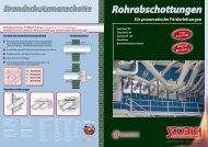 Rohrabschottungen - Stöbich Brandschutz