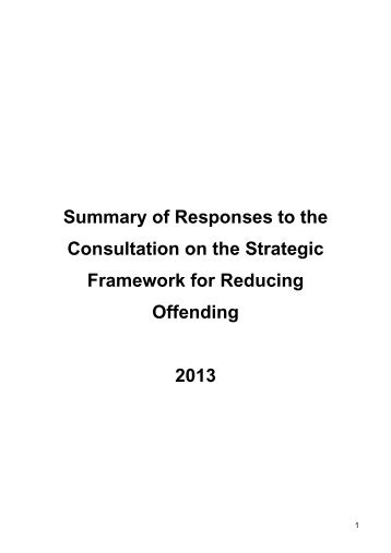Download Summary of Responses to the Consultation on the ...