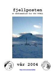 VÃ¥r 2004 - OSI Fjell