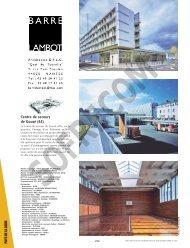 BARRE - LAMBOT Architectes D.P.L.G. - L'Architecture