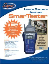 Smartester Product Sheet 2-9-05 - Supco