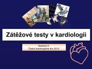 10.10 – Zátěžové testy v kardiologii