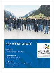Kick-off für Leipzig Steckbriefe - worldskills Liechtenstein