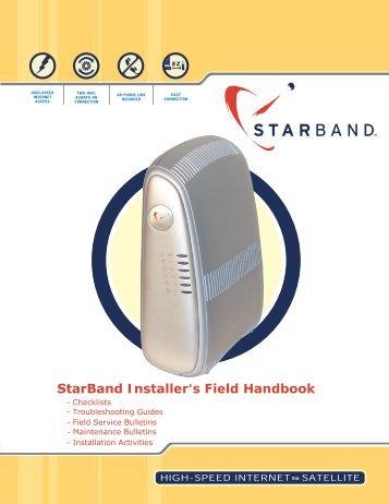 StarBand Installer's Field Handbook