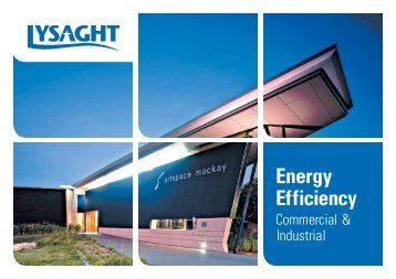 Lysaght Energy Efficiency Commercial & Industrial