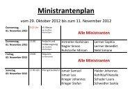 Ministrantenplan - Pfarrei Leiblfing