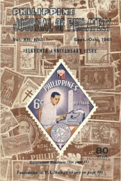 Journal of Philately - International Philippine Philatelic Society