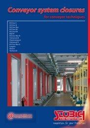 Conveyor system closures - Stöbich Brandschutz