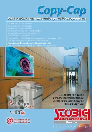 Copy-Cap Protección contra incendios para fotocopiadoras