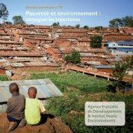 En savoir plus - Institut Veolia Environnement