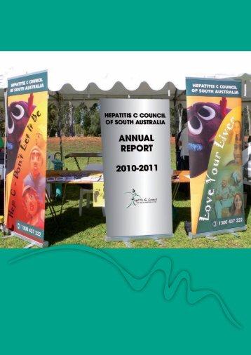 2010-2011 Annual Report - Hepatitis SA
