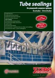 Tube sealings - Stöbich Brandschutz