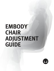 Adjustment Guide: Embody Chairs