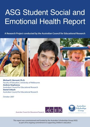 ASG Student Social and Emotional Health Report