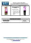 Les tenues en photos. - Direction des Enseignements Secondaires - Page 3