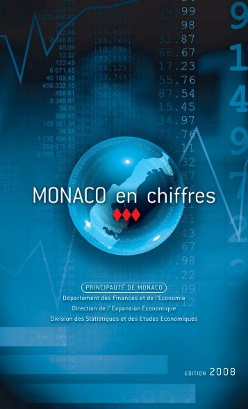 Monaco Statistiques Pocket 2008