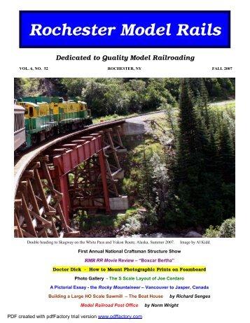 Fall - the Oil Creek Rail Road