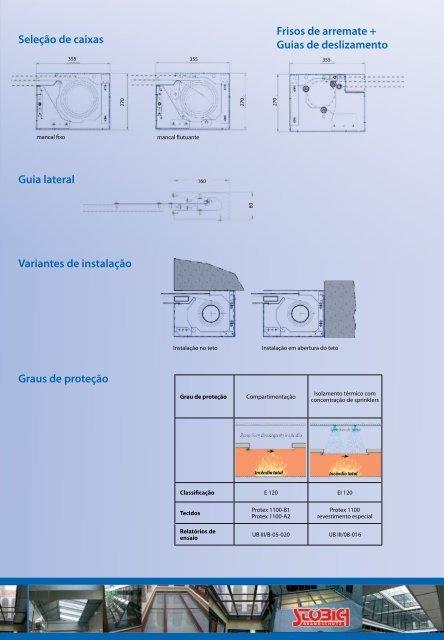 Barreiras corta-fogo flexíveis - Stöbich Brandschutz