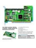 Intel® RAID Controller SRCS16 - Page 3