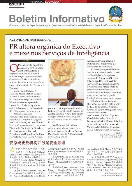 PR altera orgânica do Executivo e mexe nos Serviços de Inteligência