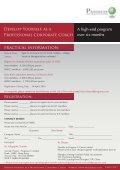 Develop Yourself as a Professional Corporate Coach - Progress-U - Page 7