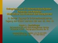 Motivation und Formen des Delegierens - ISSS