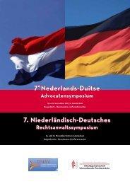 Nederlands-Duitse - Arbeitsgemeinschaft für Internationalen ...