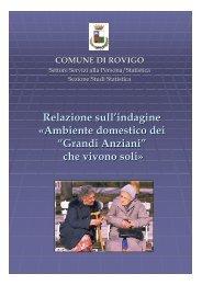 Ambiente domestico grandi anziani - Comune di Rovigo