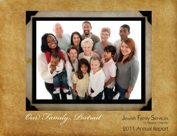 Annual Report 2011.indd - Jewish Family Services