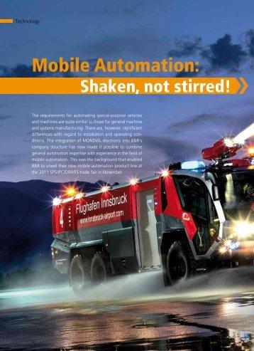Mobile Automation: - automotion