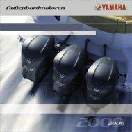 Yamaha Produktprospekt (PDF, 1,6 MB) - Boots- und ...