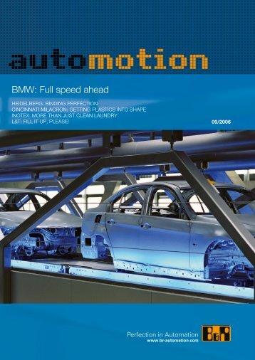 BMW: Full speed ahead - automotion