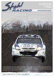 Cosworth Portfolio Subaru - Stohl-Racing