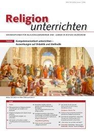 Religion unterrichten - Bistum Hildesheim