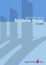 Code of Practice on Buildable Design - Building & Construction ...