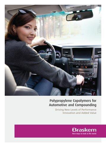 Polypropylene Copolymers for Automotive and ... - Braskem