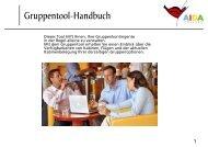 Handbuch Gruppentool Final - AIDA Cruises