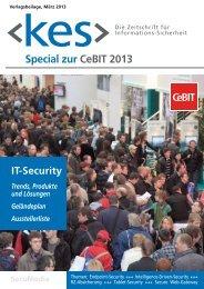 Special zur CeBIT 2013 - IT-Grundschutz
