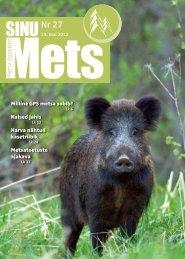 Sinu Mets-mai_2012.pdf - SA Erametsakeskus