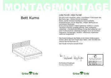 Bett Kumo - Grüne Erde