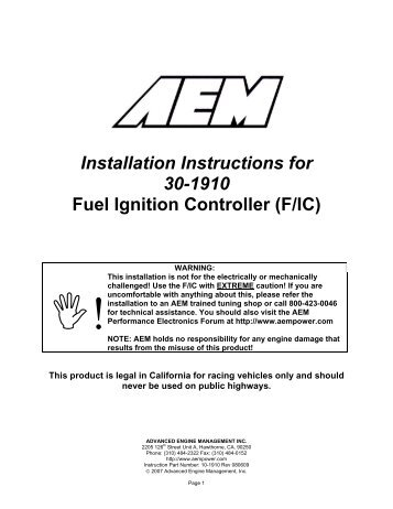 installation instructions for fuel ignition controller schnitz racing?quality=85 instructions for fuel ignition controller schnitz racing aem fuel ignition controller wiring diagram at webbmarketing.co