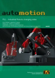 FILL - Industrial Robots changing sides - automotion