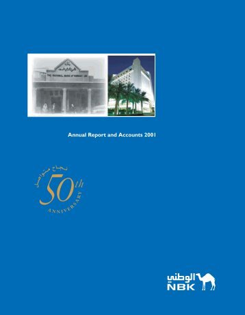 2001 Annual Report - National Bank of Kuwait