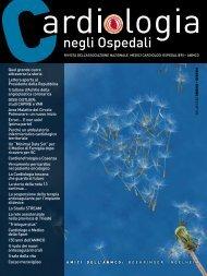 Cardiologia negli Ospedali n° 193 Maggio / Giugno 2013 - Anmco