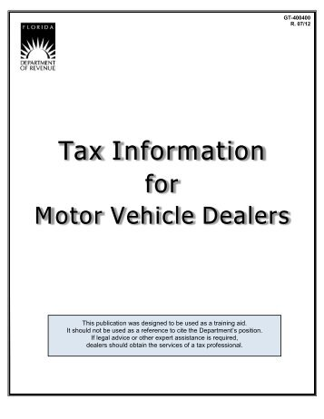 50 246 dealer 39 s motor vehicle inventory tax statement for Department of motor vehicles orlando fl