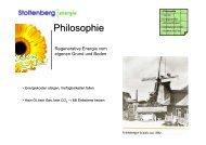 Kosten pro Jahr - Stoltenberg Energie GmbH
